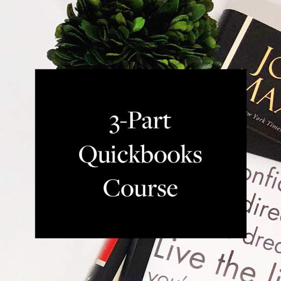3-Part QuicksBook Course